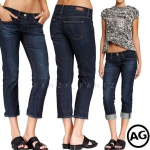 AG jeans The Tomboy Crop Boyfriend 28 Blue Crush